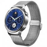 Huawei Watch W1, otel inoxidabil, bratara plasa metalica (Mesh Strap)