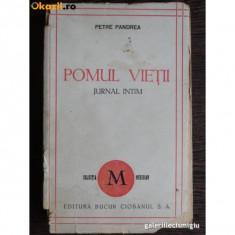 POMUL VIETII -JURNAL INTIM 1944 -PETRE PANDREA, EDITURA BUCU R CIOBANUL - Carte Editie princeps