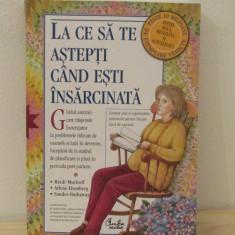 LA CE SA TE ASTEPTI CAND ESTI INSARCINATA - Carte Ghidul mamei