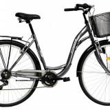 Bicicleta DHS Citadinne 2832 (2016) Culoare Gri 505mmPB Cod:21628325070 - Bicicleta de oras