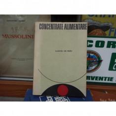 Concentrate alimentare , Dumitru Gh. Rusu