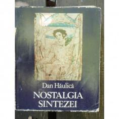 NOSTALGIA SINTEZEI - DAN HAULICA