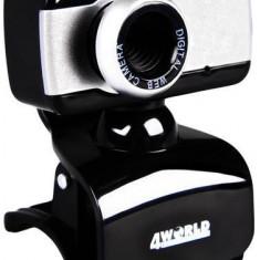 Camera web 4World 2 Mpx USB 2.0 microfon, universala - Webcam