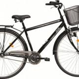 Bicicleta DHS Citadinne 2831 (2016) Culoare Negru 520mmPB Cod:21628315260 - Bicicleta de oras DHS, 13 inch, Otel