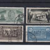 ROMANIA 1932, LP 104, CENTENARUL ORASULUI TURNU SEVERIN SERIE STAMPILATA - Timbre Romania