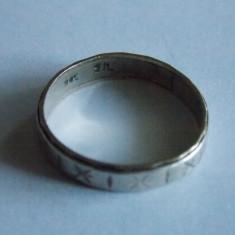 Inel de argint si aur 9k-1235 - Inel argint