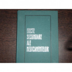 EFECTE SECUNDARE ALE MEDICAMENTELOR - GH.PANAITESCU