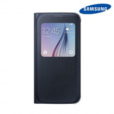 Husa Samsung Galaxy S6 G920 Book S-View Blue Black