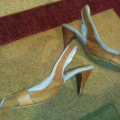 Sandale damă, Culoare: Maro, Marime: 38.5
