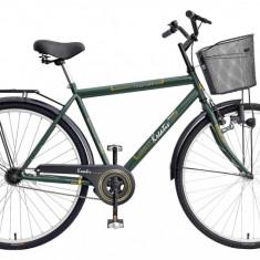 Bicicleta Kreativ 2811 culoare VerdePB Cod:215281180 - Bicicleta de oras DHS, Otel