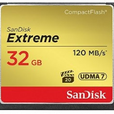 Card de memorie SanDisk Compact Flash Extreme 32GB, 120 MB/s - Card Compact Flash