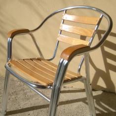 Scaun aluminiu pentru terasa - Mobila pentru terasa