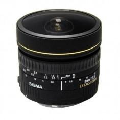 Obiectiv Sigma 8/3.5 Fish-Eye Circular EX DG AF pt Nikon - Obiectiv DSLR