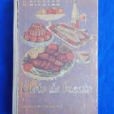 ELISABETA CIORTAN - CARTE DE BUCATE - EDITIA A DOUA - 1961 *