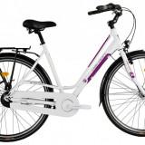 "Bicicleta Devron Urbio LC2.8 M – 520/20.5"" Ivory WhitePB Cod:216CL285291 - Bicicleta de oras Devron, Negru"