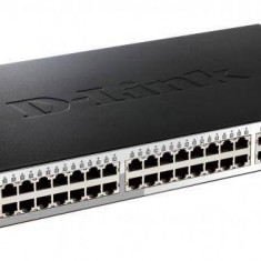 DLINK SW 48P-GB 4P-SFP SMART RM - Switch