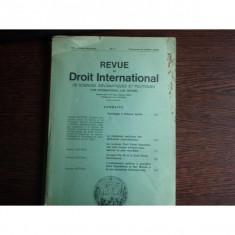 REVUE DE DROIT INTERNATIONAL NR.4/1973