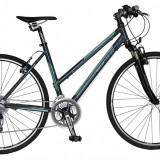 Bicicleta DHS Contura 2866 Culoare Gri/Verde – 440mmPB Cod:21528664471 - Bicicleta de oras