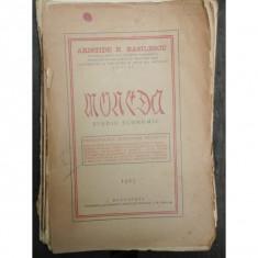 MONEDA STUDIU ECONOMIC - ARISTIDE N. BASILESCU
