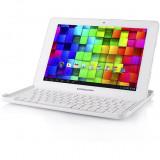 Tableta MODECOM FreeTAB 1002 IPS X4+ BT KEY 10.1 inch Cortex A7 1.0GHz Quad Core 1GB RAM 16GB flash WiFi White