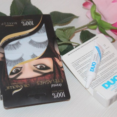 Set Gene False Hand Made + Adeziv Duo Eyelash Adhesive