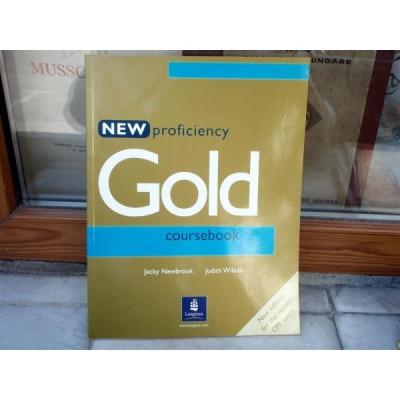 New proficiency , Gold course book , Jacky Newbrook foto