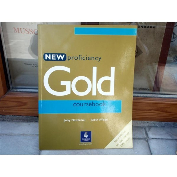 New proficiency , Gold course book , Jacky Newbrook foto mare