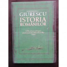 ISTORIA ROMANILOR - CONSTANTIN C. GIURESCU - Curs Tehnica