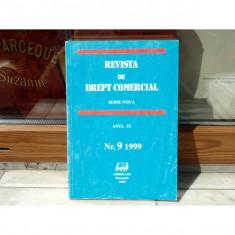 REVISTA DE DREPT COMERCIAL SERIE NOUA ANUL IX NR.9 1999, Cursuri - Curs drept