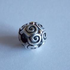 Talisman/ clips Pandora din argint si aur -790594 Elemental Flow -369