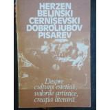 DESPRE CULTURA ESTETICA, VALORILE ARTISTICE, CREATIA LITERARA