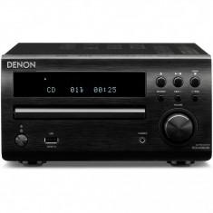 DENON Sistem audio RCD-M39DAB/ SC-M39, 2 x 30W, negru