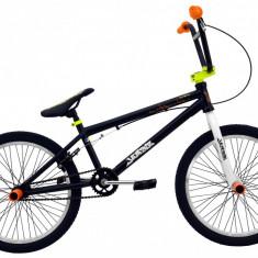 Bicicleta BMX DHS Jumper 2005 (2016) Culoare Negru-VerdePB Cod:216200560 - Bicicleta copii