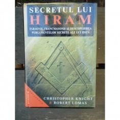 SECRETUL LUI HIRAM - CHRISTOPHER KNIGHT