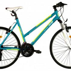 Bicicleta DHS Contura 2666 (2016) Culoare Verde/Smarald 495mmPB Cod:21626664988 - Mountain Bike DHS, 19.5 inch