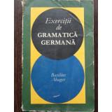 EXERCITII DE GRAMATICA GERMANA, BASILIUS ABAGER