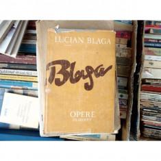 Opere 11 Trilogia Cosmologica , Lucian Blaga , 1988