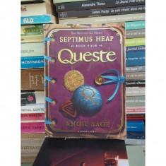 SEPTIMUS HEAP, BOOK FOUR, QUESTE, ANGIE SAGE - Carte personalizata