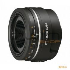 Obiectiv Sony 50mm F1.8 pentru DSLR Sony, de inalta calitate, cu diafragma cu deschidere mare, ideal - Obiectiv DSLR