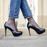 Pantofi dama Fairy negrii - Pantof dama