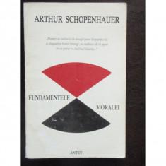 FUNDAMENTELE MORALEI - ARTHUR SCHOPENHAUER - Filosofie