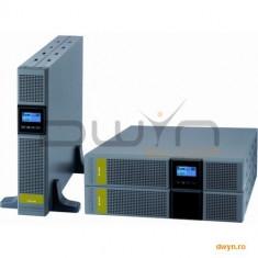 UPS SOCOMEC Netys PR RT 3300VA, putere 3300VA / 2700W, 8 x IEC 320 (10 A) + 1 x IEC 320 (16 A), timp