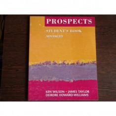 Student's book advanced, Ken Wilson, James Taylor
