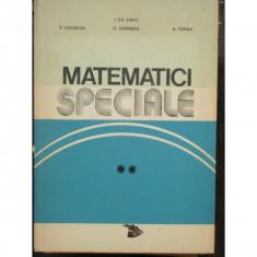 MATEMATICI SPECIALE - P. COCARLAN VOL.II - Carte Matematica