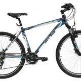 Bicicleta DHS Terrana 2623 (2016) Culoare Gri/Alb 495mmPB Cod:21626234979