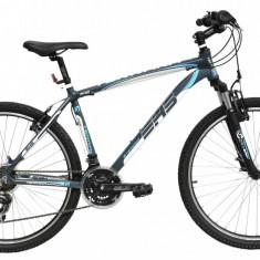 Bicicleta DHS Terrana 2623 (2016) Culoare Gri/Alb 495mmPB Cod:21626234979 - Mountain Bike