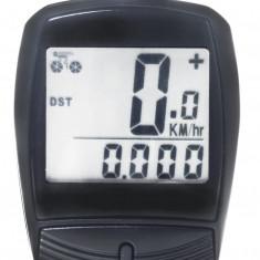 Kilometraj WAG 13 Functii cu Fir NegruPB Cod:588040351RM - Accesoriu Bicicleta