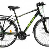 "Bicicleta Devron Urbio T1.8 M – 495/19.5"" Fast BlackPB Cod:216TM184963 - Bicicleta de oras"