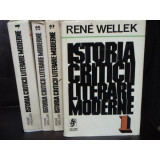 ISTORIA CRITICII LITERATURII MODERNE - RENE WELLEK 4 VOL