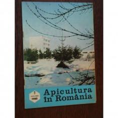 REVISTA APICULTURA IN ROMANIA NR.1/1980